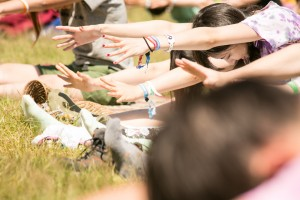 ヨガワークショップ / BASEWORKS & PYRAMID GARDEN @ FUJI ROCK FESTIVAL '15