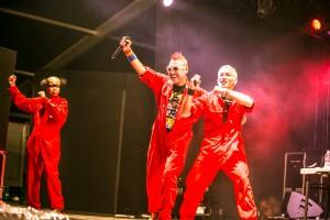 電撃ネットワーク(TOKYO SHOCK BOYS) @ FUJI ROCK FESTIVAL '15